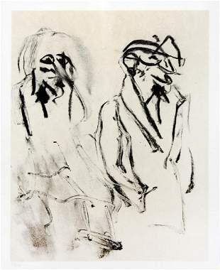 Willem De Kooning - Untitled (For Frank O