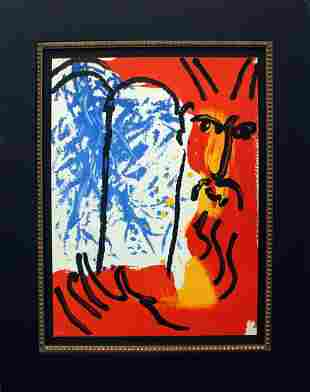Marc Chagall - Moses from the Bible
