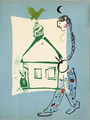 Marc Chagall - Our House in My Village