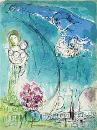 Marc Chagall - Place de a Concorde