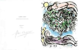 Marc Chagall - L'Arbre Fleuri