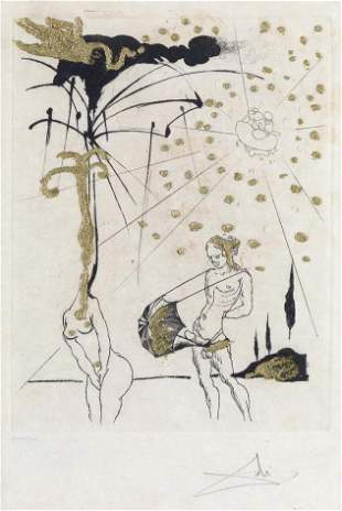 Salvador Dali - Le Poete Contumace