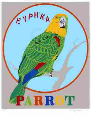 Robert Indiana - Parrot