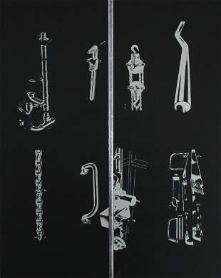 Jim Dine - Tool Box IX