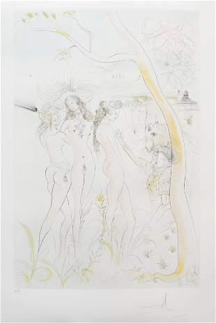 Salvador Dali - Le Jugement de Paris