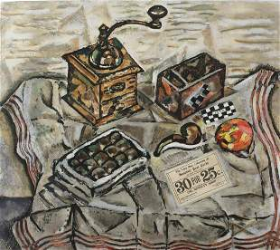 Joan Miro - Le Moulin a Cafe