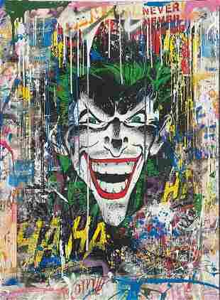 Mr. Brainwash - The Joker (Unique)