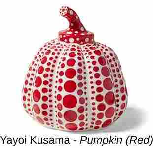 Yayoi Kusama - Pumpkin (Red)