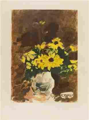 Georges Braque (After) - Vase de Fleurs Jaunes
