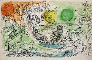 Marc Chagall - Le Concert