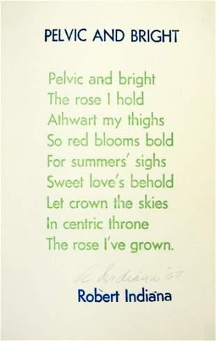 Robert Indiana - Pelvic and Bright