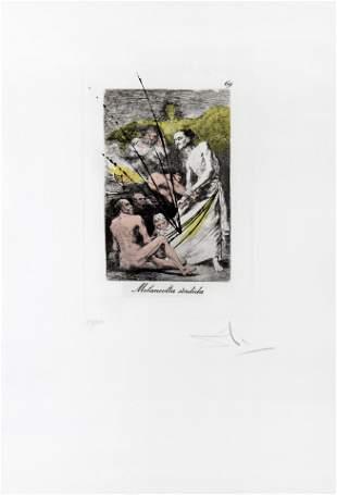 Salvador Dali - Melancolia sordida, 69