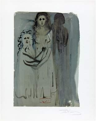 The Smoke of Irascibility by Salvador Dali