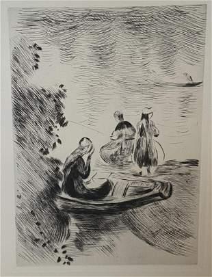 Berthe Morisot - Untitled (At the Beach)