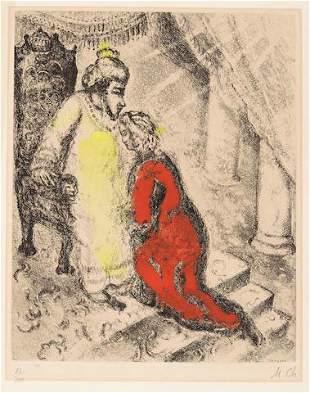 Marc Chagall - David et Absalon De le Bible