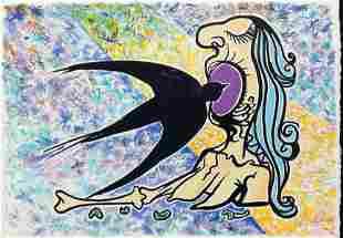 Salvador Dali - L'hirondelle