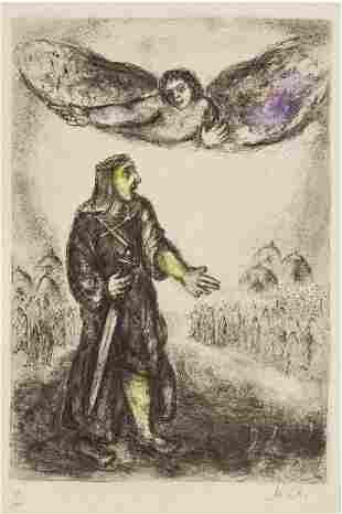 Marc Chagall - Joshua Before Jericho