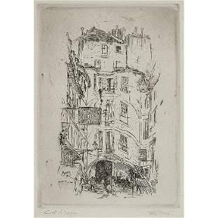 John Marin - Cour Dragon Paris