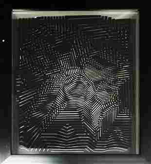 Victor Vasarely - Cinetiques V