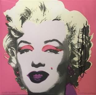 Andy Warhol - Marilyn Monroe Invitation