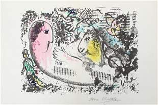Marc Chagall - Reverie