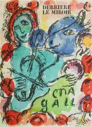Marc Chagall - Cover From Derriere Le Miroir