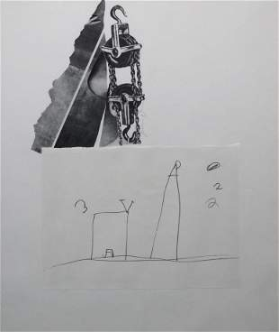 Jim Dine - Tool Box VIII
