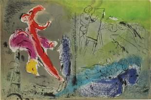 Marc Chagall - Vision von Paris