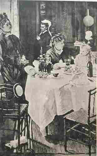 Claude Monet (after) - Le Dejeuner (1868)