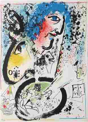Marc Chagall - Self Portrait