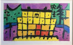 Paul Klee (After) - Gelbes Haus II