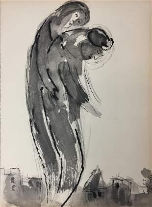 Marc Chagall (After)- Les Amants Econduits