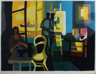 Marcel Mouly - Untitled (The Painter)