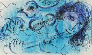 Marc Chagall - The Flute Player