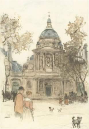 Jean Francois Raffaelli - Untitled Illustration (Town