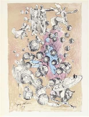 Jacques Villon - Untitled