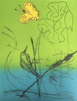 Romare Bearden - Untitled Lithograph III from