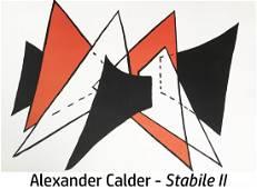 Alexander Calder - Stabile II (Study for Scuplture)
