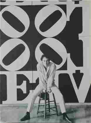 Robert Indiana - Portrait with Love Square