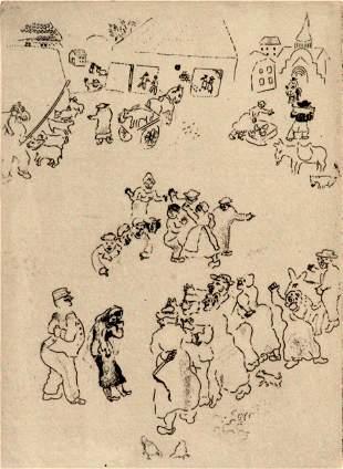 Marc Chagall - The Birth