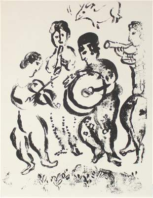 Marc Chagall - De Luxe Cover of The Lithographs of
