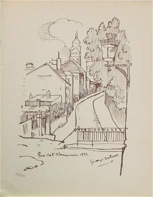 Georges Delaw (After) - Rue de l'Abreuvoir