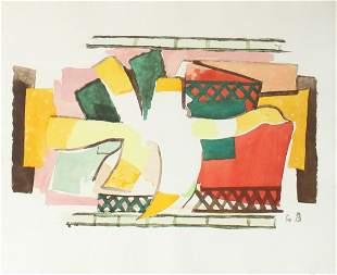 Georges Braque - L'Oiseaux de Feu