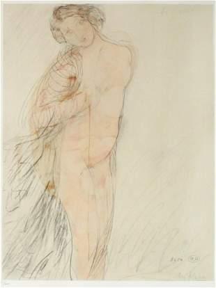 Auguste Rodin - Aquarelle IX