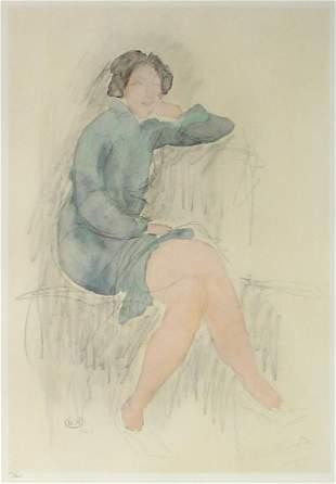 Auguste Rodin - Aquarelle VI