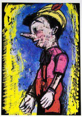 Jim Dine - Lincoln Center Pinocchio