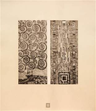 Gustav Klimt (After) - Study for the Frieze at Palais