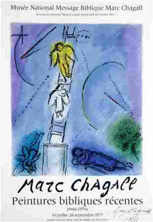 Marc Chagall - Peintures bibliques recentes poster