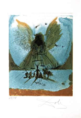 Salvador Dali - Study for a Civic Monument in the