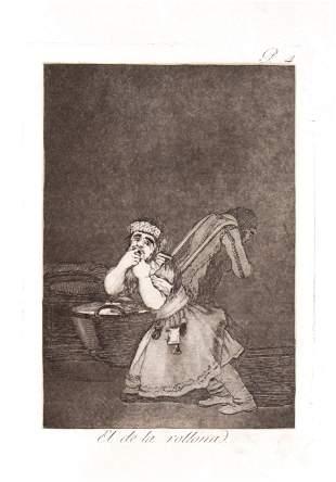 Francisco Goya - El de la Rollona